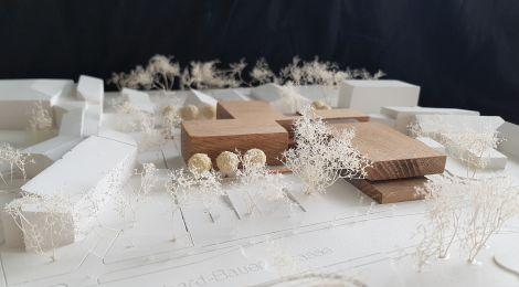 Architektur-Modell des Entwurfs